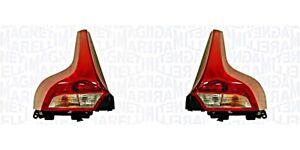 Rear Light Pair LED For VOLVO V40 31395479 31395478 MAGNETI MARELLI
