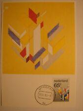 "(NL1030) ART PAINTING ""DE STIJL"" 1983 NETHERLANDS maximum maxi card postcard"
