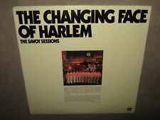 THE CHANGING FACE OF HARLEM Savoy Session Charlie Parker RARE SEALED 2 Double LP