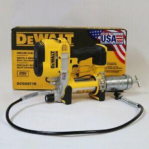 NEW DEWALT DCGG571B 20V MAX Cordless Li-Ion Grease Gun Tool Only