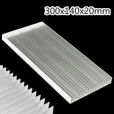300x140x20mm Aluminum Heat Sink Cooling For LED & Power IC Transistor Heatsink