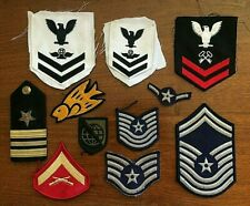 US Army / US Navy Rank & Division Military Patches OTHER