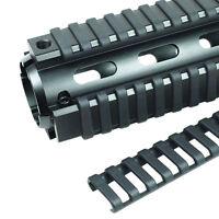 4Pcs Ladder Rail Cover 17 slot Handguard Weaver Picatinny Heat Resistant: