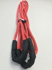 "Zombie Choker 1/2"" X 20' Kinetic Recovery Tow Rope, Red 7,400 LB RAZ, Jeep"