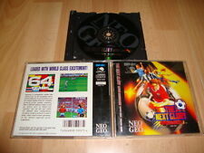SUPER SIDEKICKS 3 THE NEXT GLORY NEO GEO SOCCER GAME BY SNK ENGLISH VER. 1995