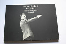 "Beckett, Samuel Samuel Beckett mis en scène Le ""Finale"" - incl. Manuscrit G.H."