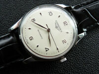 RARE  VINTAGE  CIRCA  1952  MEN'S  LONGINES   AUTOMATIC   19  JEWELS  SERVICED