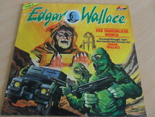 Vinyl LP - Edgar Wallace- FOLGE 8 - Der unheimliche Mönch