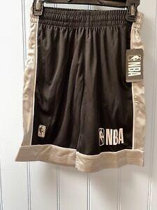 $35 NBA Authentic Elastic Waist Boys Basketball Athletic Shorts Size M (10-12)