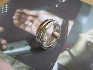 Dean Winchester from Supernatural Ring made sterling silver 925-artisan product
