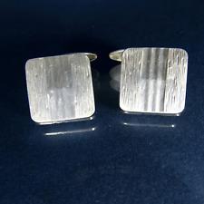 Art Déco Manschettenknöpfe 835 Silber Modernist Silver Cufflinks um 1920 1930
