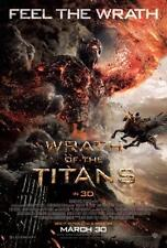 WRATH OF THE TITANS - D/S 27x40 Original Movie Poster One Sheet MINT Liam Neeson