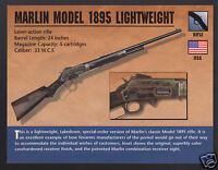 HOWARD THUNDERBOLT RIFLE .44 Rimfire Lever-Action Gun Firearms PHOTO CARD