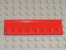 LEGO red plate 2 x 8 with door rail 30586 / Set  FARM 7637 + NINAGO 2507 + 8185