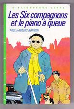 Les six compagnons et le piano à queue ¤ P.-J.BONZON