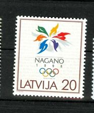 OLYMPIC WINTER GAMES NAGANO 1998 LATVIA LETTONIA 1998