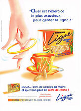 PUBLICITE ADVERTISING 053 1998   BEGHIN SAY  sucre roux LIGNE             100513