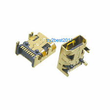 Type B 8 Pin Gold Plated Mini USB Connector Socket Female Camera Phone SMT 2pcs