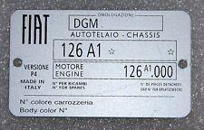 Classica piastra del telaio FIAT 126-più alta qualità