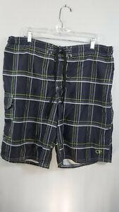 OP Men's Lined Board Shorts Swim Trunks Sz XL 40-42  Multicolor