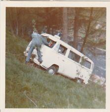 Foto Polizei Bulli Unfall 1 Auto Oldtimer Meschede Hennesee