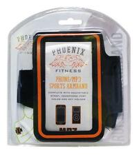 Phoenix Fitness RY728 Sports Armband With Adjustable Strap Headphone Hole - New