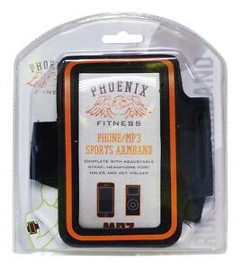 Phoenix Fitness RY728 Sports Armband With Adjustable Strap Headphone Hole - New