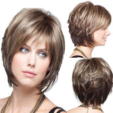 Women Wig Fashion Natural Lady Short Curly Hair Cool Full Wigs High Quality