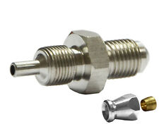 """3/8"""" UNF Male Convex Fitting for AN-3 (3/16"""") PTFE Brake Hose System End"""
