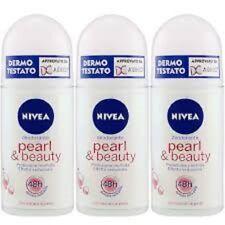 6 x NIVEA deodorante Corpo Pearl & Beauty deo roll on offerta in stock
