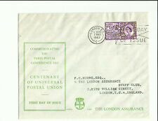1963 Paris Postal Conference on London Assurance cover. Rarely seen *