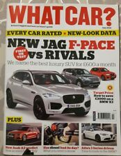 WHAT CAR ?   MAGAZINE  JULY 2016 ENGLISH MONTHLY