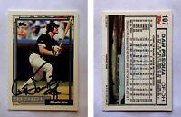 Dan Pasqua Signed 1992 Topps #107 Card Chicago White Sox Auto Autograph
