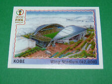 N°17 KOBE STADE WORLD CUP PANINI FOOTBALL JAPAN KOREA 2002 COUPE MONDE FIFA
