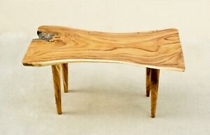 One of a Kind Live Edge Suar Wood Dining Table (7)