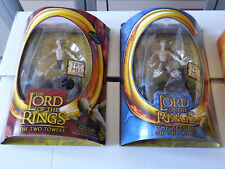 LOT figurines GOLLUM LORD OF THE RINGS SEIGNEUR DES ANNEAUX Marvel TOY BIZ 2003