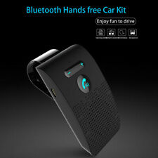 Wireless Bluetooth Handsfree Car Kit Auto Speakerphone Carkit Sun Visor Speaker