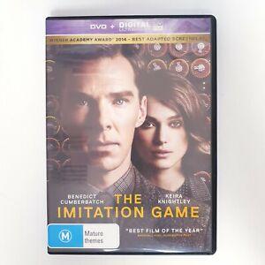 The Imitation Game Movie DVD Free Postage Region 4 AUS - True Story Alan Turing
