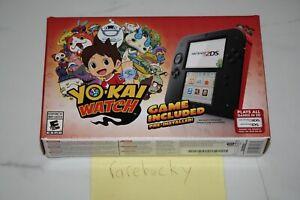 Nintendo 2DS Yo-Kai Watch Console Bundle - NEW SEALED, MINT CONDITION, VERY RARE
