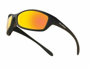 Bollé EN166 1FT Spider Flash Mirror Lens Safety Sunglasses spiflash