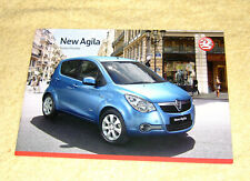 Vauxhall New Agila B Preview Brochure December 2007, Expression, Club, Design