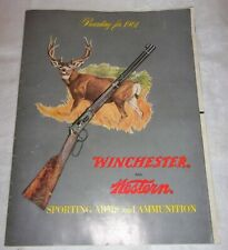 VINTAGE 1961  MAGAZINE CATALOG WINCHESTER AND WESTERN SPORTING ARMS & AMMUNITION