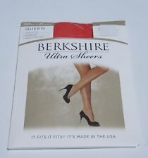 Berkshire Hosiery Ultra Sheers QUEEN Sz 1x-2x Red Control Top Style 4411