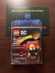 New Lego Supergirl Minifigure DC Fandome Exclusive