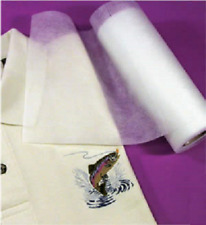 Fusible PolyMesh Embroidery Stabilizer Cut Away 12x25Yd