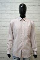Camicia a Righe Uomo TOMMY HILFIGER Taglia XL Maglia Manica Lunga Shirt Men's
