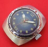 Vintage Vostok Amphibian wrist watch Soviet USSR Russian diver 200m serviced