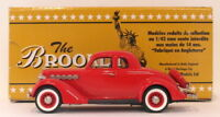 Brooklin 1/43 Scale BRK90  - 1935 Plymouth 5-Window Coupe Red
