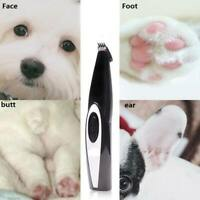 Rechargeable Professional Foot Hair Trimmer Paw Nail Clipper for Pets Dogs Cats