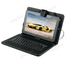 """10.1"""" Quad Core Android 4.4 Kitkat A33 Tablet PC 16GB Dual Cam with Keyboard"""